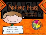 Spider Math 1.NBT.5 1.NBT.6 Math Center Activity