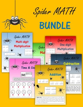 Spider Math BUNDLE