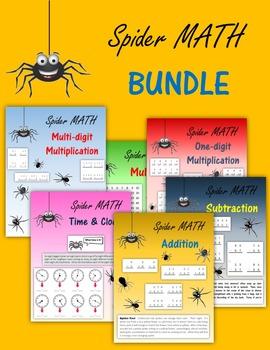 Spider Math BUNDLE