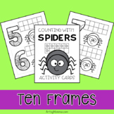 Spider Math Counting Cards