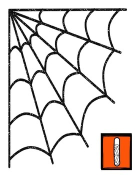 Spider Math Counting Mat