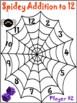 Spider Math Games for Grades 1-3