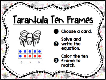 Spider Math Stations