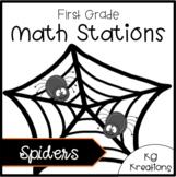 Spider Math Stations