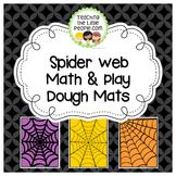 Spider Math and Play Dough Mats