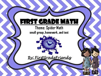 Spider Math for Firsties