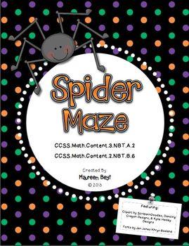 Spider Maze Addition