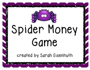Spider Money Game