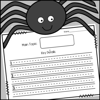 Spider Non-Fiction Book and Craft