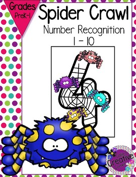 Halloween Math - Number Recognition