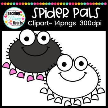 Spider Pals Clipart