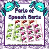 Spider Parts of Speech Sorts