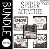 Spider Pre-K Activities BUNDLE