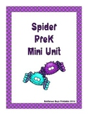 Spider PreK Printable Learning Pack