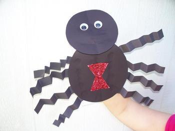 Spider Puppet Pattern