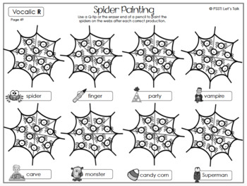 Spider Q-tip Painting