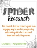 Spider Research
