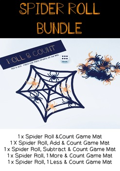 Spider Roll and Count Bundle