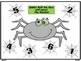 Spider Roll and Cover Number Recognition and Addition - Kindergarten
