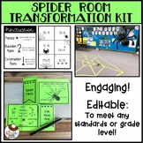 Spider Room Transformation Editable