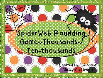 Spider Round Up~Game~THOUSAND/TEN-THOUSANDS