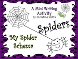 Spider Schema Writing Activity