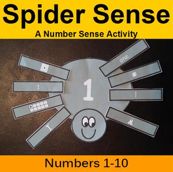 Spider Sense - A Number Sense Activity