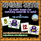 Spider Sets! {a math activity for matching numerals to sets}