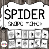 Spider Shape Match (Halloween)