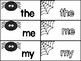 Spider Sight Word Match Up