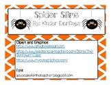 Spider Slime
