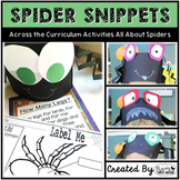 Spiders: Math and Literacy Activities