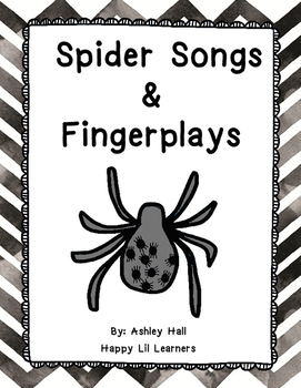 Spider Songs  &  Fingerplays