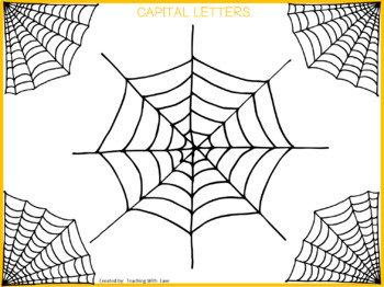 Spider Sort: Capital and Lowercase Letters
