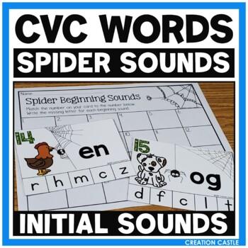 CVC Words Beginning Sounds Center