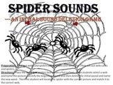 Spider Sounds - a deleting initial sound game