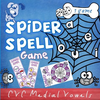 Spider Spell CVC game