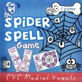 Spider Spell CVC game
