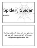 Spider, Spider Math Multiplication Book