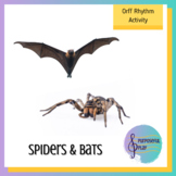 Spider Spider Spider Bat Rhythm Activity Introducing Rhythm