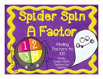 Spider Spin a Factor-A Factor Spinner Center!