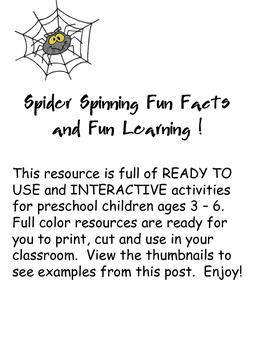 Spider Spinning Fun