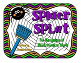 Spider Splat - {Short Vowel Recognition}