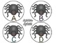 Spider Splat! {a letter recognition game}