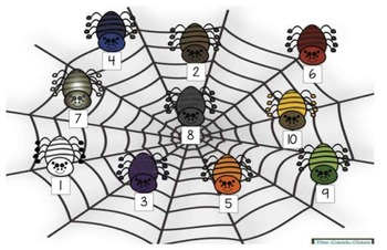Spider Stacking Number Sense