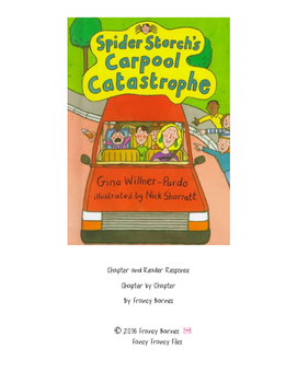 Spider Storch's Carpool Catastrophe- Reader Response and Chapter Questions