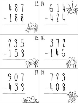 Spider Subtraction