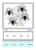 Spider Subtraction Double Digits Autism Special Education