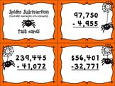 Spider Subtraction - Multi-digit Numbers