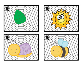 Spider Syllable Sort FREEBIE!